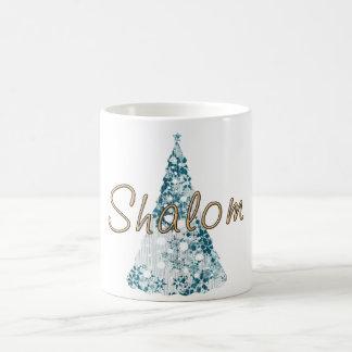 Shalom Holiday Cup Classic White Coffee Mug