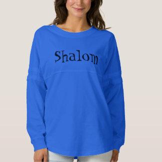 Shalom in daddy O script Spirit Jersey