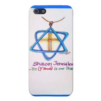 Shalom Jerusalem Capital of Israel iPhone cover