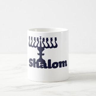 Shalom Classic White Coffee Mug