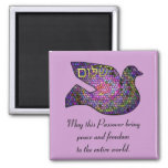 Shalom Peace Passover Magnet