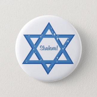Shalom! Pinback Button