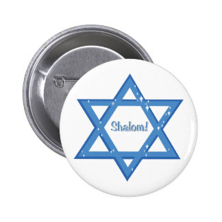 Shalom! Pinback Button