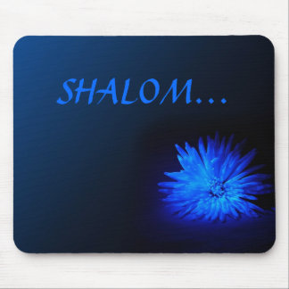 SHALOM Religious mousepad
