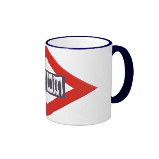 Shalom Ringer Mug