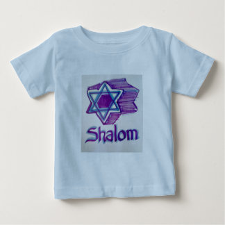 Shalom Star of David products Baby T-Shirt