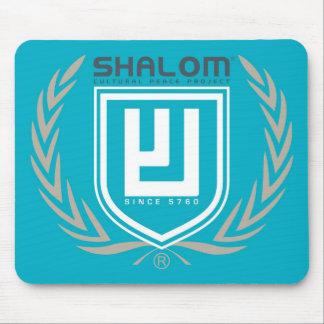 Shalom Tri Color Crest Mouse Pads
