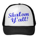 ¡Shalom usted! Gorros