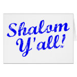 ¡Shalom usted! Tarjetas
