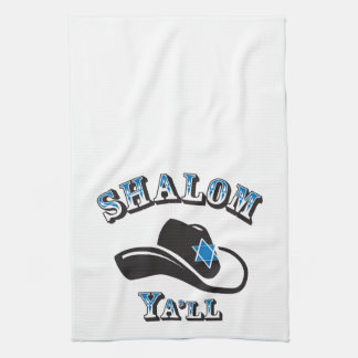 Shalom usted toalla de cocina