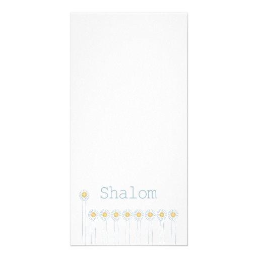 Shalom {Vertical} Photo Card