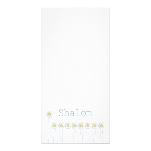 Shalom {Vertical} Picture Card