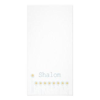 Shalom {vertical} tarjetas personales
