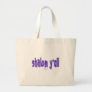 SHALOM Y'ALL GIFTS LARGE TOTE BAG