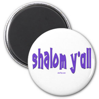 SHALOM Y'ALL GIFTS REFRIGERATOR MAGNET