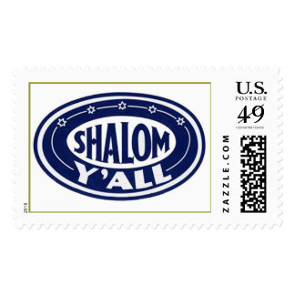 Shalom Y'all Stamp,  Postage
