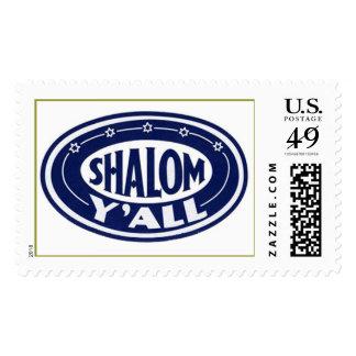 Shalom Y'all Stamp,  Stamp
