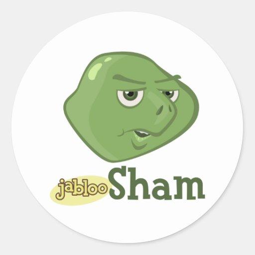 Sham Circle Sticker