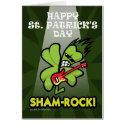 SHAM-ROCK! card
