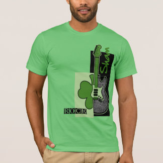Sham Rock. Irish Rock St. Patrick's Day T-Shirts