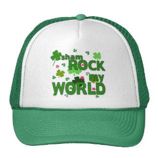 Sham Rock My World with Shamrocks Trucker Hat