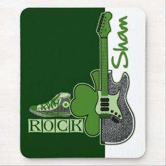 Sham Rock. St. Patrick's Day Gift Mousepads