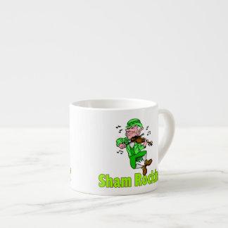 Sham Rockin Fiddle Espresso Cup