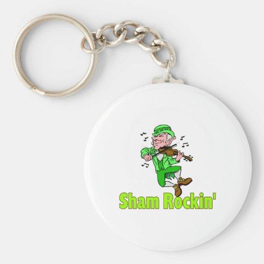 Sham Rockin Keychain
