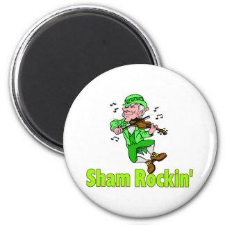 Sham Rockin Refrigerator Magnet