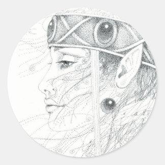 Shaman angel guide sticker