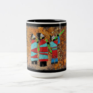 Shaman Chant Two-Tone Coffee Mug