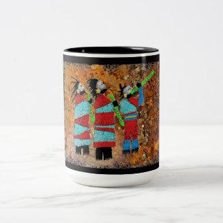 Shaman Chant Two-Tone Coffee Mug