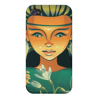 Shaman-Girl iPhone 4/4S Cases