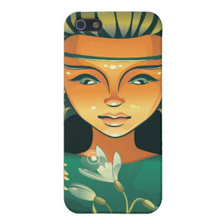 Shaman-Girl Cases For iPhone 5