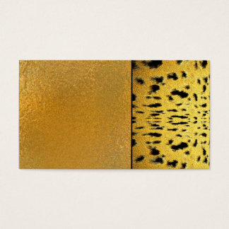 Shaman Healer Jaguar Spots Cat Business Cards