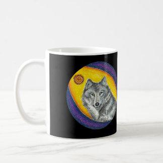 Shaman Healing Wolf Coffee Mug