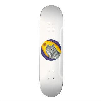 Shaman Healing Wolf Skateboard