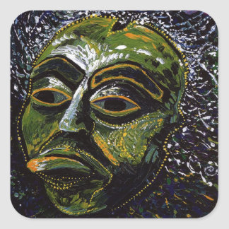Shaman Mask Stickers