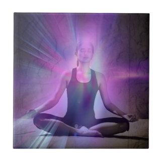 Shaman meditation yoga chakra zen chakra tiles