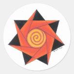 Shaman Round Sticker