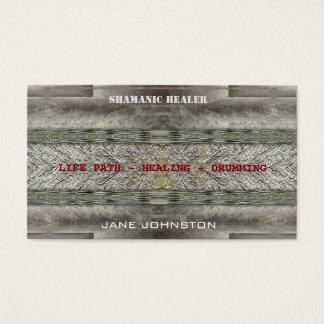 Shaman Shamanic Drumming Psychic Business Cards