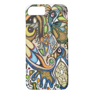 Shaman Spirit (Dream of the Thunderbird) iPhone 7 Case