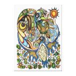 Shaman Spirit:  Dream of the Thunderbird (NORTH) Canvas Prints