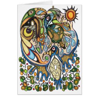 Shaman Spirit:  Dream of the Thunderbird (NORTH) Card