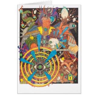 Shaman Spirit - Left-handed Magic Card