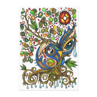 Shaman Spirit:  The Weeping Tree Spirit (SOUTH) Canvas Print