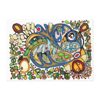 Shaman Spirit: The Whisper of Spirit Voices (WEST) Canvas Print