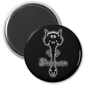 Shaman stave magnet fridge magnet