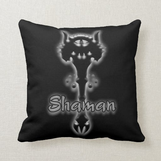shaman stave pillow