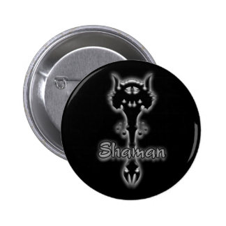 Shaman stave pin button